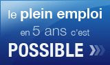 Le plein emploi en France, c'est possible