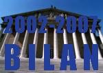 Bilan de la XIIe législature - 2002-2007